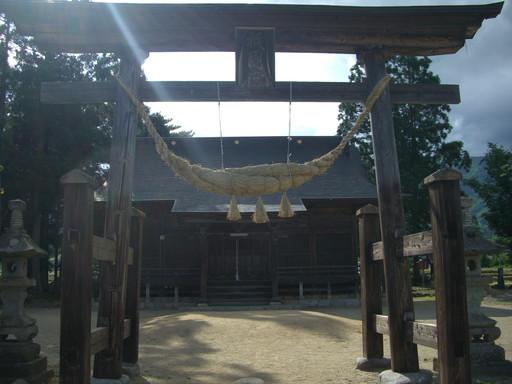 津嶋神社(長井市)