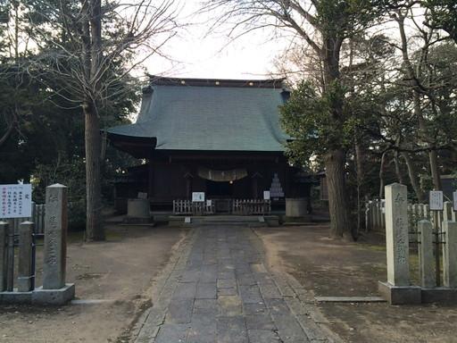 諏訪大神(東庄町)