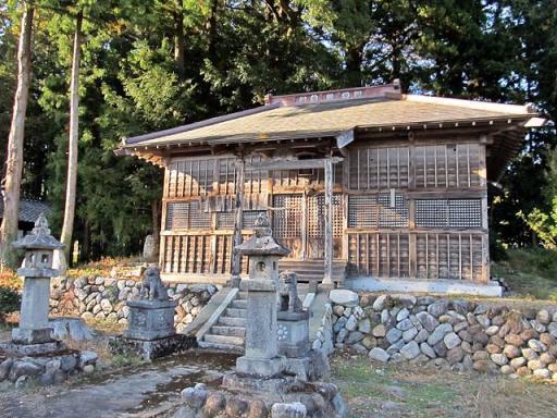 冠嶺神社(鹿島区上栃窪)