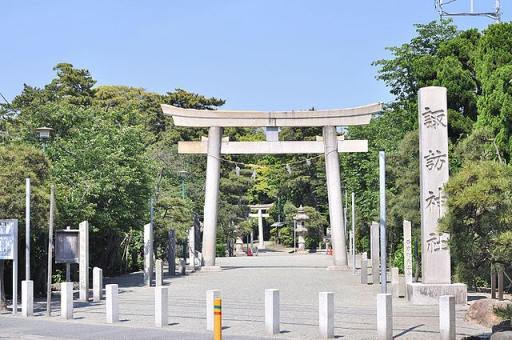 諏訪神社(藤沢市片瀬)