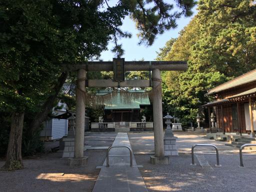 鹿骨鹿島神社