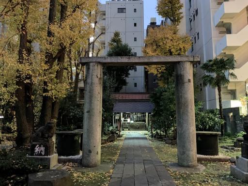 新橋塩釜神社