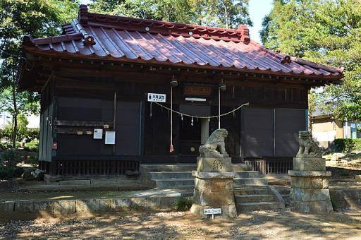 阿彌神社(阿見町中郷)