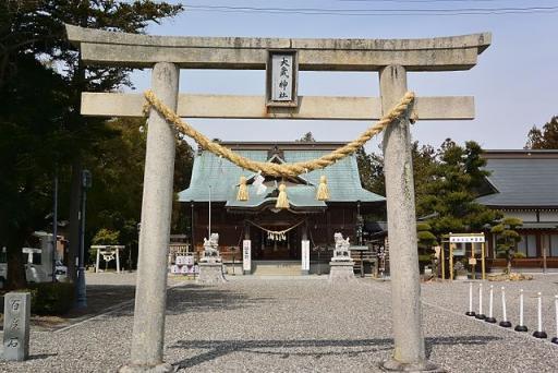 天王宮大歳神社(静岡県浜松市)