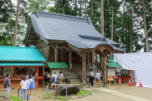 白山神社(平泉町)