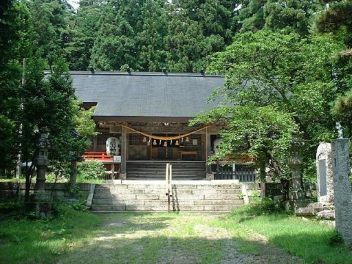 有明山神社(里宮)