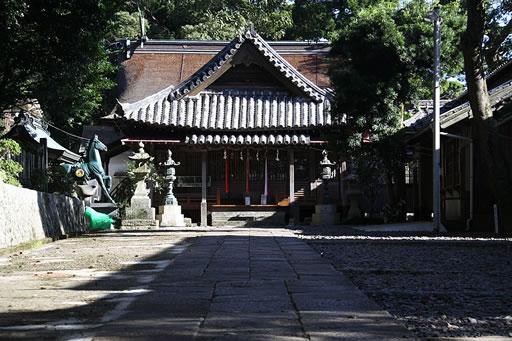 厳原八幡宮神社