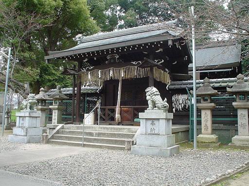 許波多神社(木幡)