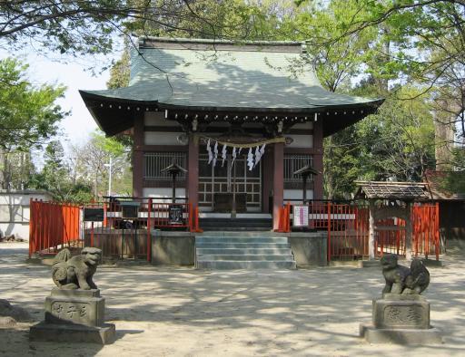 青渭神社(東京都稲城市)