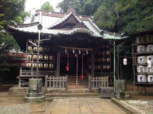 諏訪神社(藤沢市大鋸)