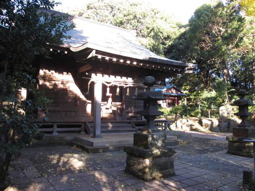 御霊神社(藤沢市宮前)