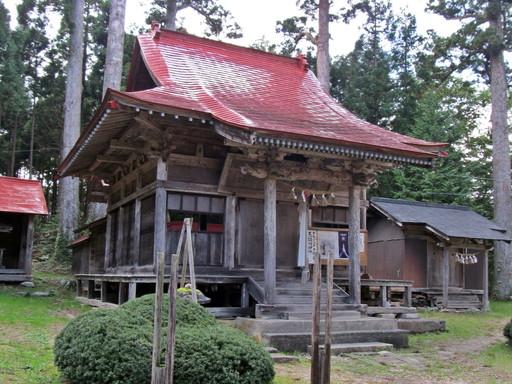 荒雄川神社(大崎市鳴子温泉鬼首)