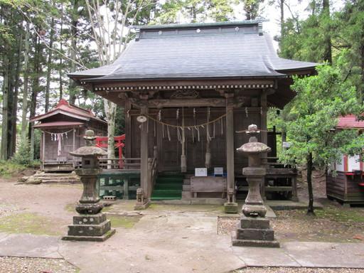 荒雄川神社(大崎市岩出山池月)