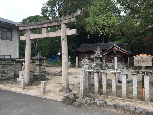 白山神社(奈良市北之庄町)