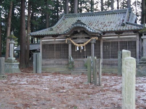 諏訪神社(松本市波田)