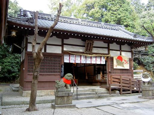 山田神社(枚方市山之上)