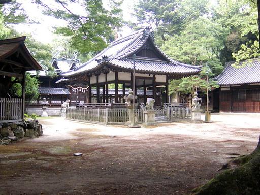 伊居太神社(池田市)