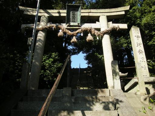 伊射奈岐神社(吹田市佐井寺)