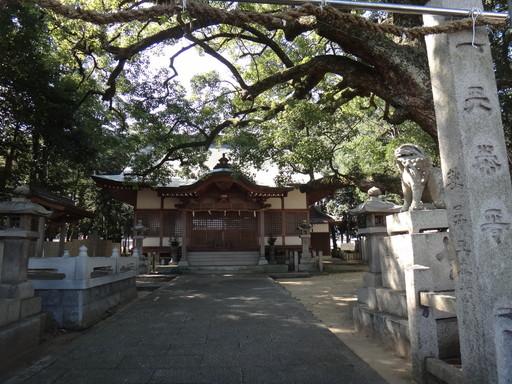 木熊野神社(善通寺市中村町)