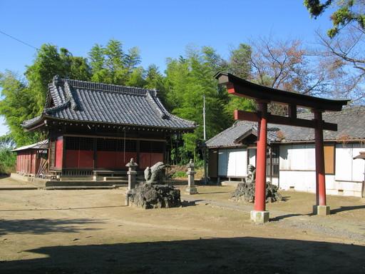 青毛五柱神社