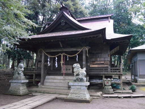 長幡部神社(常陸太田市)