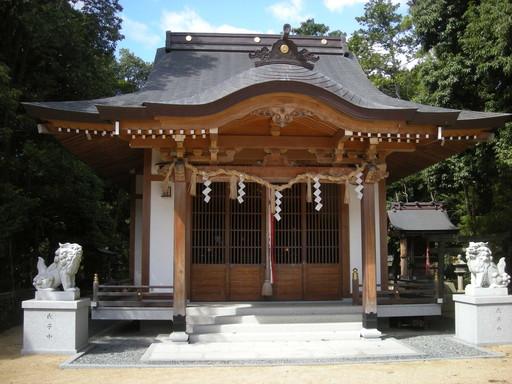 春日神社(高槻市成合北の町)