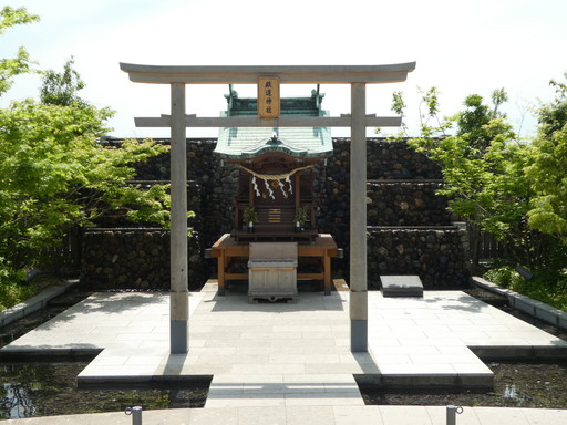 鉄道神社(大分市)