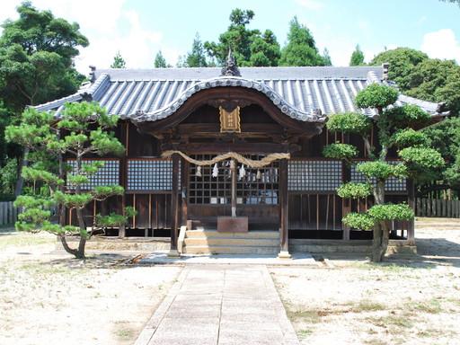 美和神社(瀬戸内市長船町東須恵)