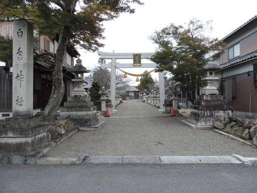 白鳥神社(東近江市種町)