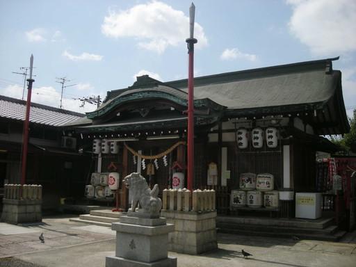 八坂神社(大阪市大正区)