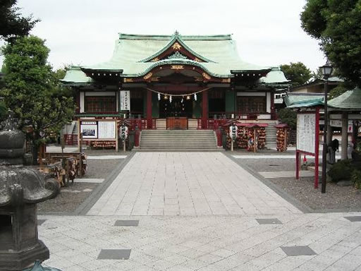 亀戸天神社